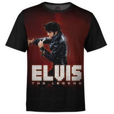 Camiseta masculina Elvis Presley Estampa digital md01