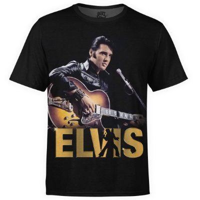 Camiseta masculina Elvis Presley Estampa digital md03