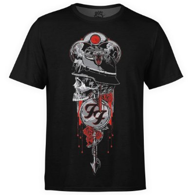 Camiseta masculina Foo Fighters Estampa digital md03
