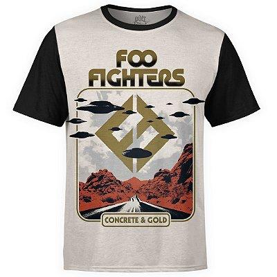 Camiseta masculina Foo Fighters Estampa digital md05