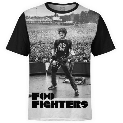 Camiseta masculina Foo Fighters Estampa digital md06