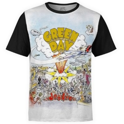 Camiseta masculina Green Day Estampa digital md01