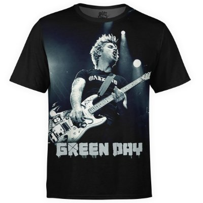 Camiseta masculina Green Day Estampa digital md02