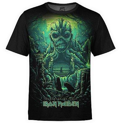 Camiseta masculina Iron Maiden Estampa digital md04