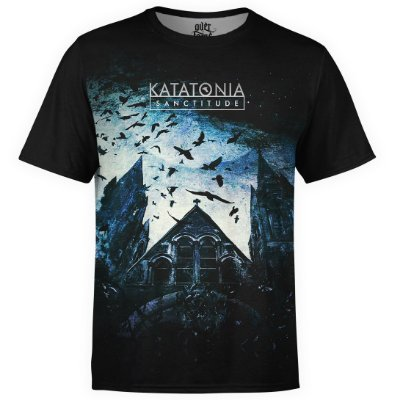 Camiseta masculina Katatonia Estampa digital md01