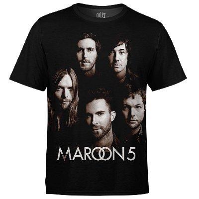 Camiseta masculina Maroon 5 Estampa digital md01