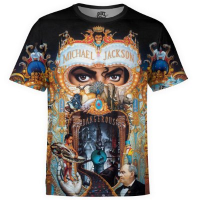 Camiseta masculina Michael Jackson Estampa digital md02
