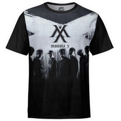 Camiseta masculina Monsta X Estampa digital md03