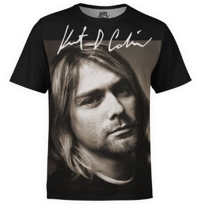 Camiseta masculina Nirvana Estampa digital md06