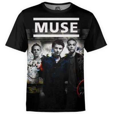 Camiseta masculina Muse Estampa digital md01