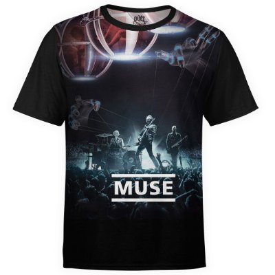 Camiseta masculina Muse Estampa digital md03
