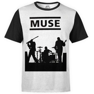 Camiseta masculina Muse Estampa digital md04