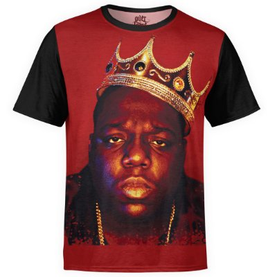 Camiseta masculina Notorious BIG Estampa digital md01