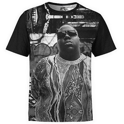 Camiseta masculina Notorious BIG Estampa digital md03