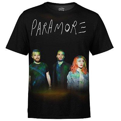 Camiseta masculina Paramore Estampa digital md01