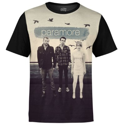 Camiseta masculina Paramore Estampa digital md02