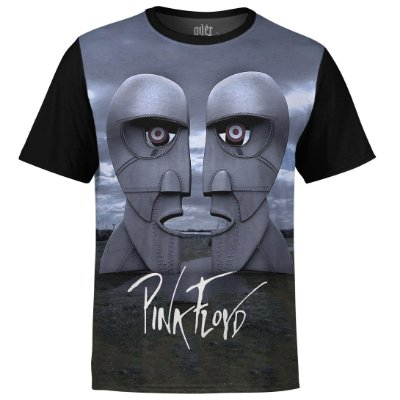 Camiseta masculina Pink Floyd Estampa digital md02