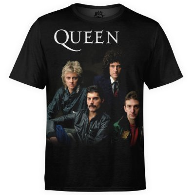 Camiseta masculina Queen Estampa digital md03