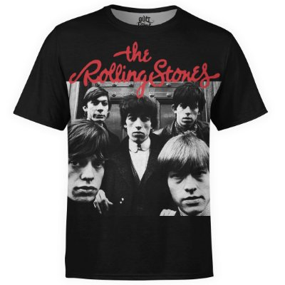 Camiseta masculina The Rolling Stones Estampa digital md03