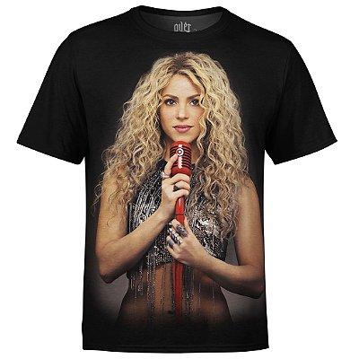 Camiseta masculina Shakira Estampa digital md01