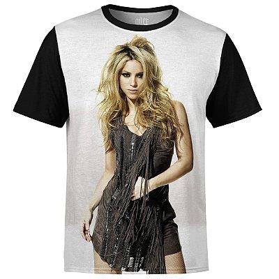Camiseta masculina Shakira Estampa digital md02