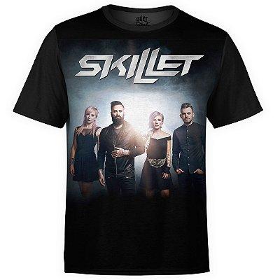 Camiseta masculina Skillet Estampa digital md01