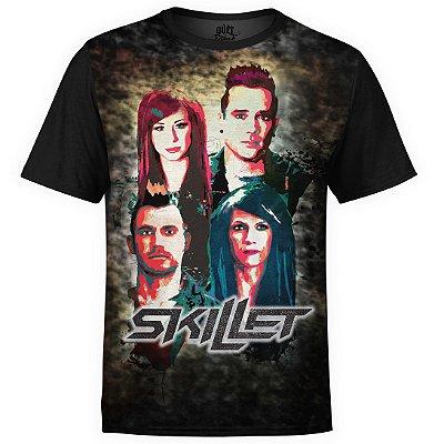 Camiseta masculina Skillet Estampa digital md03