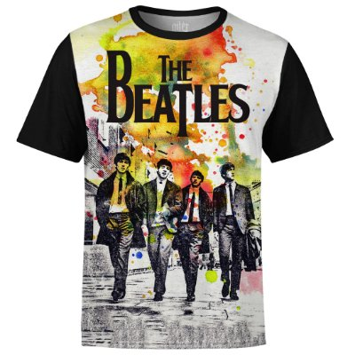 Camiseta masculina The Beatles Estampa digital md01