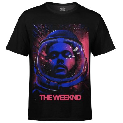 Camiseta masculina The Weeknd Estampa digital md02
