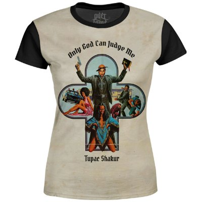 Camiseta Baby Look Feminina 2PAC Tupac Shakur Md02