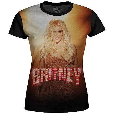 Camiseta Baby Look Feminina Britney Spears md03