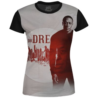 Camiseta Baby Look Feminina Dr. Dre Estampa digital md02