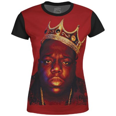 Camiseta Baby Look Feminina Notorious BIG md01