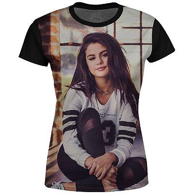 Camiseta Baby Look Feminina Selena Gomez md02