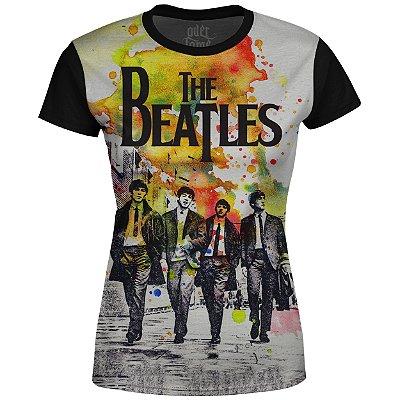 Camiseta Baby Look The Beatles Estampa digital md01