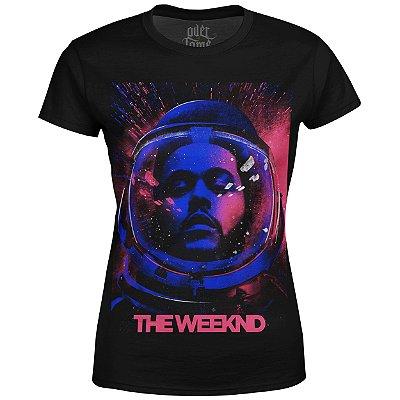 Camiseta Baby Look The Weeknd Estampa digital md02