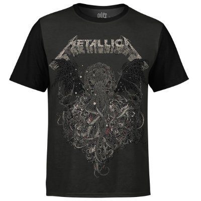 Camiseta masculina Metallica Estampa digital md02 - OUTLET