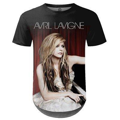Camiseta Masculina Longline Avril Lavigne md01
