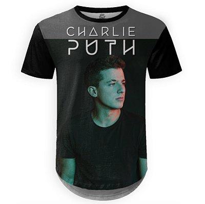 Camiseta Masculina Longline Charlie Puth md01