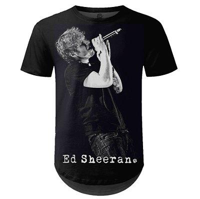 Camiseta Masculina Longline Ed Sheeran Estampa digital md01
