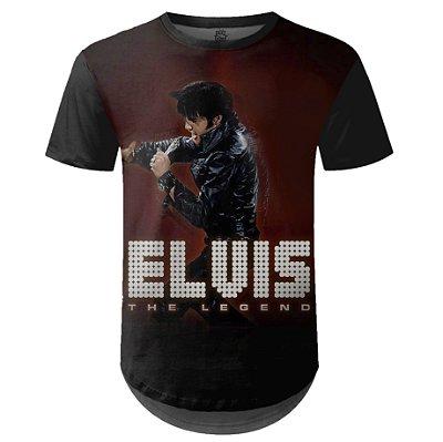 Camiseta Masculina Longline Elvis Presley md01