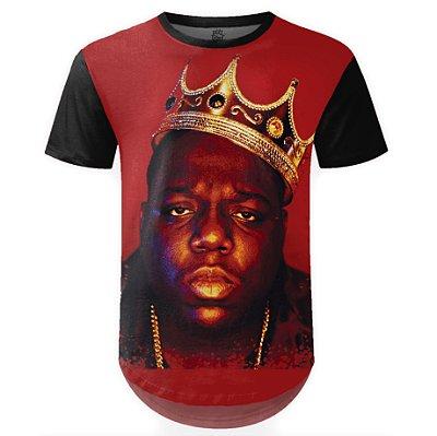 Camiseta Masculina Longline Notorious BIG md01