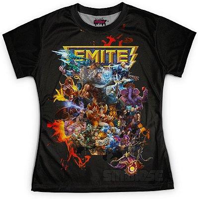 Camiseta Baby Look Feminina Jogo Smite