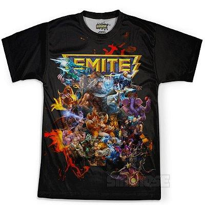 Camiseta Masculina Jogo Smite md01