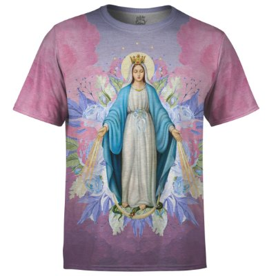 Camiseta Masculina Santa Maria Floral