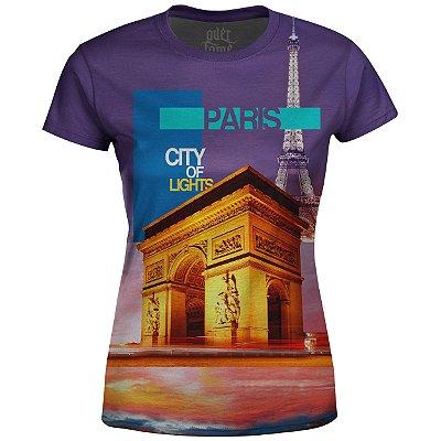 Camiseta Baby Look Feminina Paris Md02