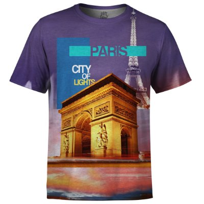 Camiseta Masculina Paris Md02