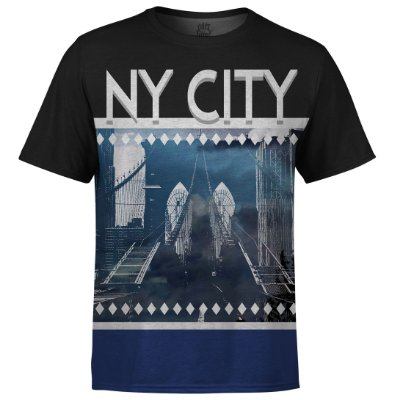 Camiseta Masculina New York NY Md02