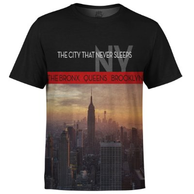 Camiseta Masculina New York NY Md01