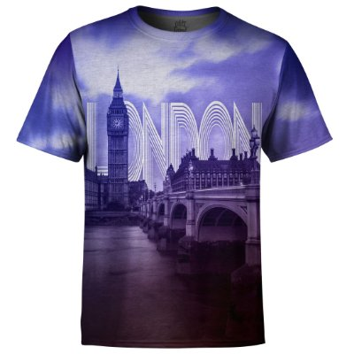 Camiseta Masculina Londres Md01